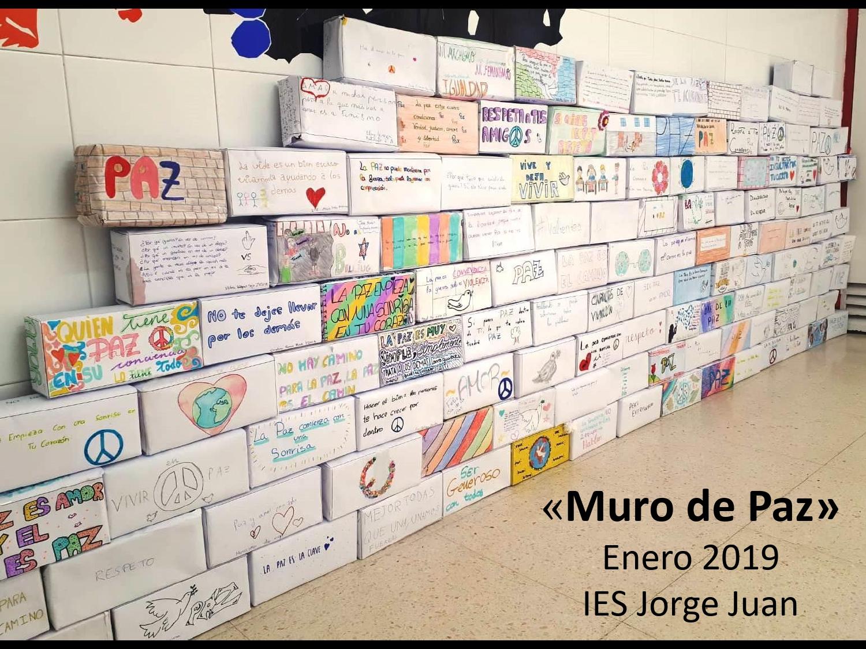 Más Actividades Por El Día De La Paz El Muro De La Paz Y Los árboles Contra La Violencia Ies Jorge Juan