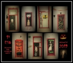 Halloween door decorating contest !! (continuación)