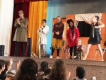 1º ESO students attend a theatre play in English at La Salle School